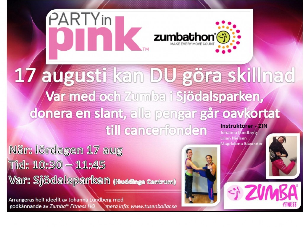 party in pink 17 aug
